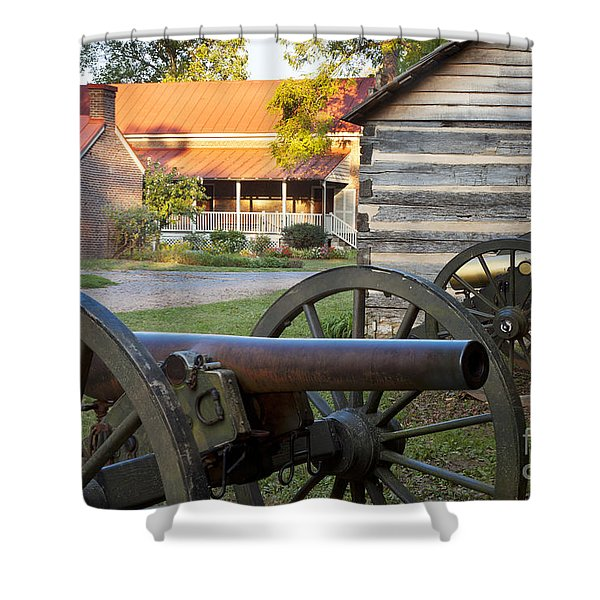 Shower Curtain featuring the photograph Battle Of Franklin by Brian Jannsen