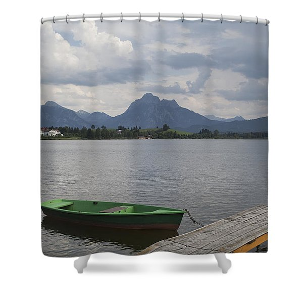 Bavarian Lake Shower Curtain
