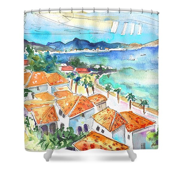 Bay Of Saint Martin Shower Curtain