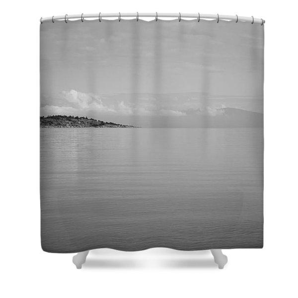 Be Still My Ocean  Shower Curtain