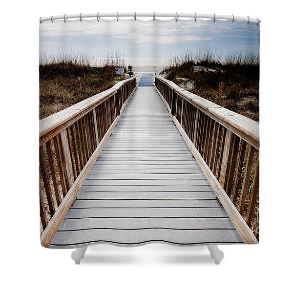 Beach Access Hilton Head Shower Curtain