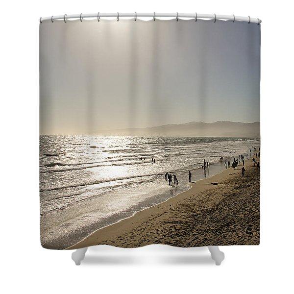 Beach Afternoon Shower Curtain