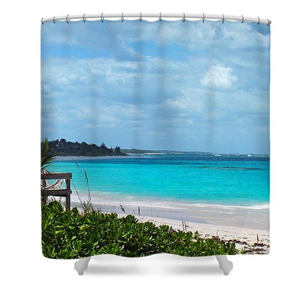 Beach At Tippy's Shower Curtain