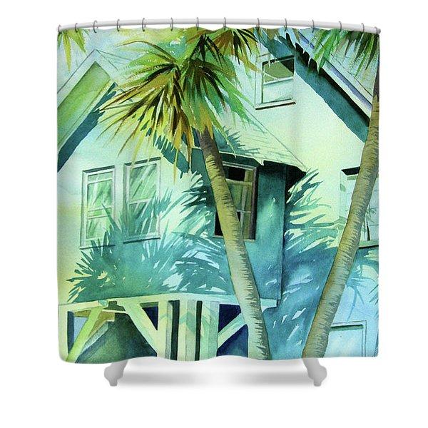 Beach Cottage Shower Curtain