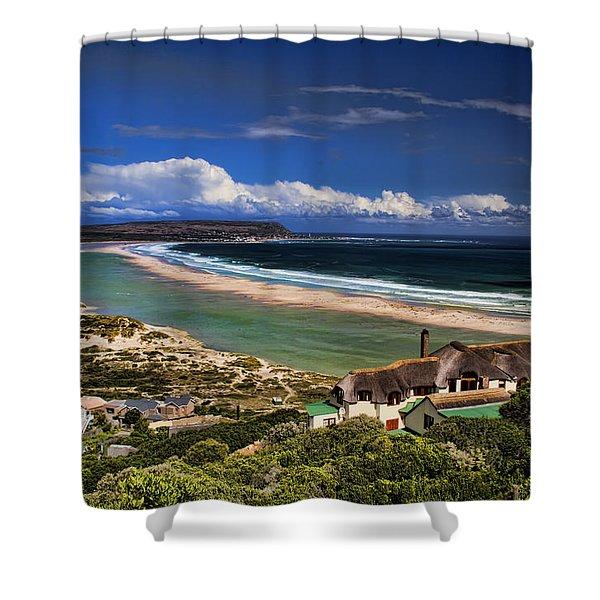 Beach In Noordhoek South Africa  Shower Curtain