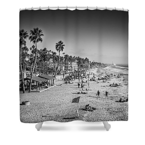 Shower Curtain featuring the photograph Beach Life From Yesteryear by John Wadleigh