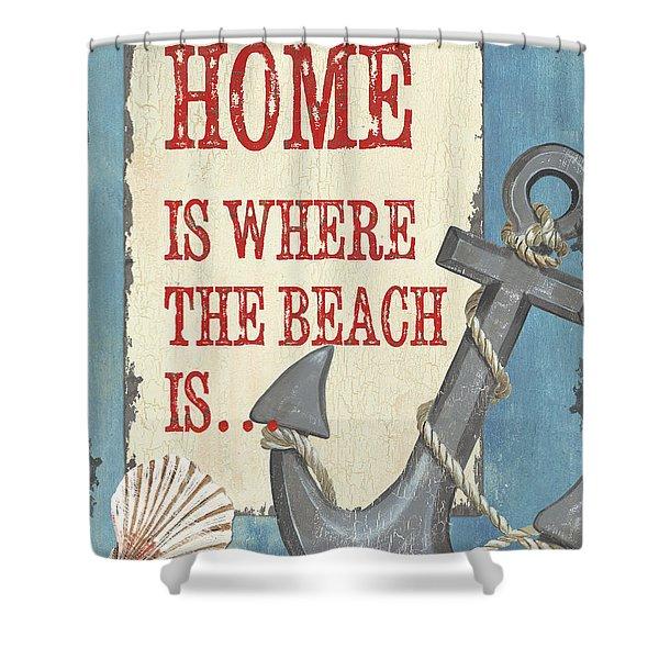 Beach Time 2 Shower Curtain