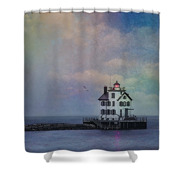 Beacon Of Light Shower Curtain