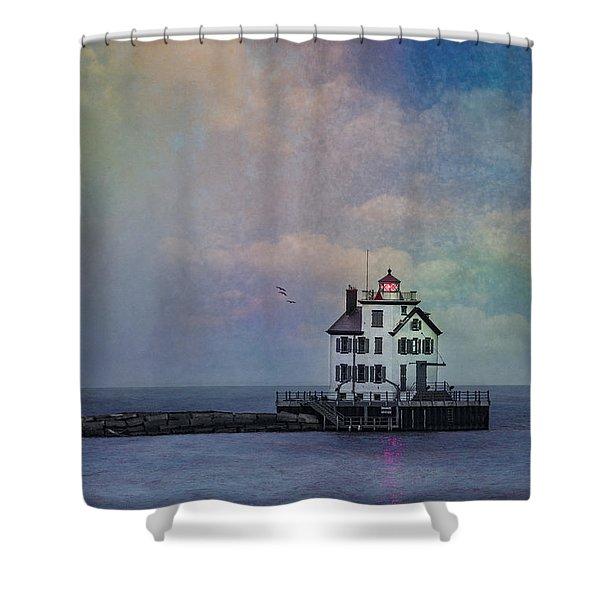 Beacon Of Light Shower Curtain