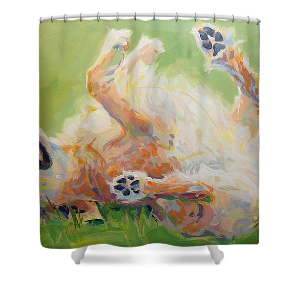 Bears Backscratch Shower Curtain