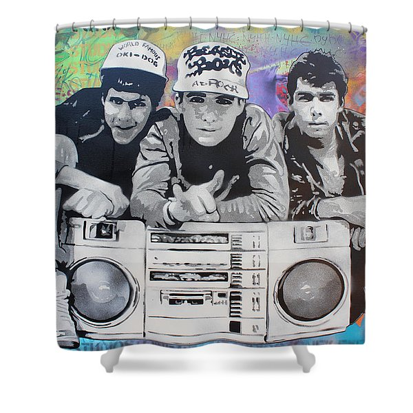 Beastie Boys Shower Curtain