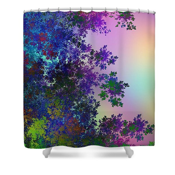 Beautiful Summer Morning Shower Curtain