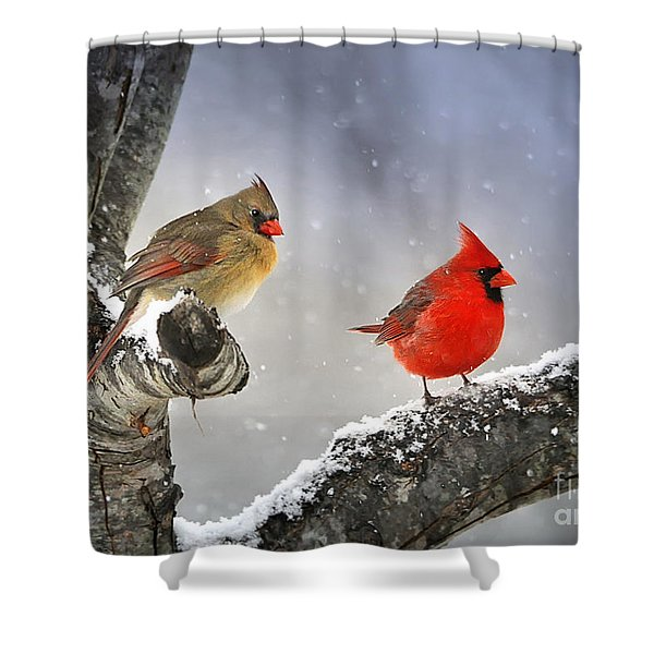 Beautiful Together Shower Curtain