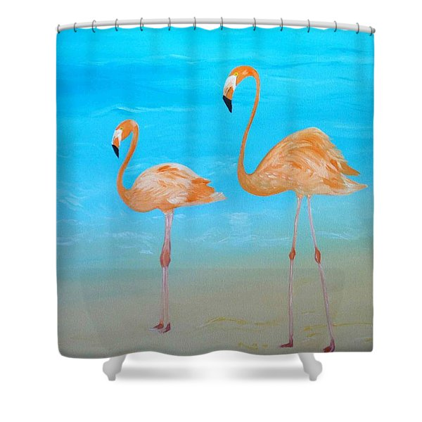 Beauty And Grace Shower Curtain