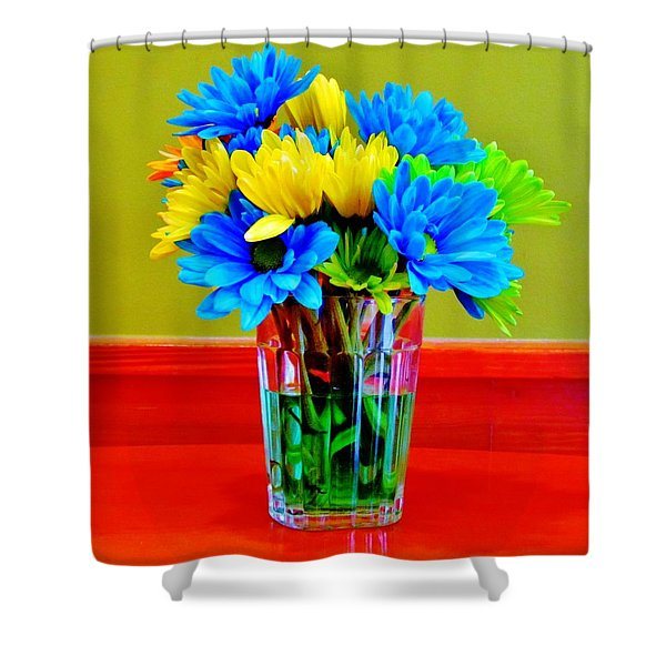 Beauty In A Vase Shower Curtain