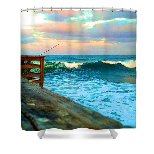 Beauty Of The Pier Shower Curtain