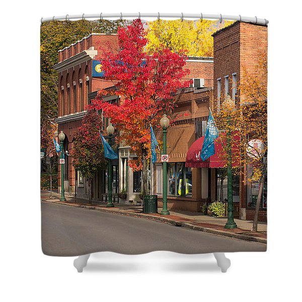 Beaver St  Sewickley Shower Curtain