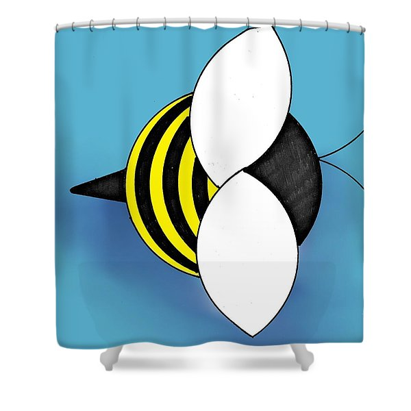Bee2011 Shower Curtain