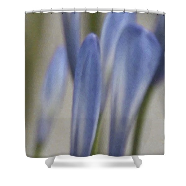 Before - Lily Of The Nile Shower Curtain