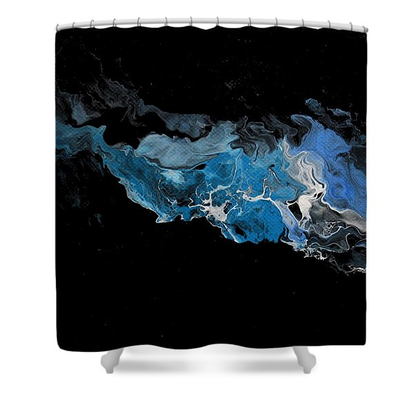 Before The Beginning Shower Curtain
