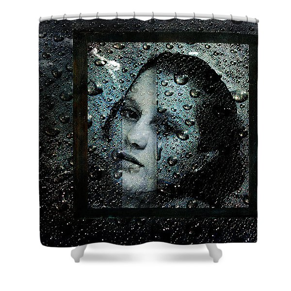 Behind Waters Shower Curtain