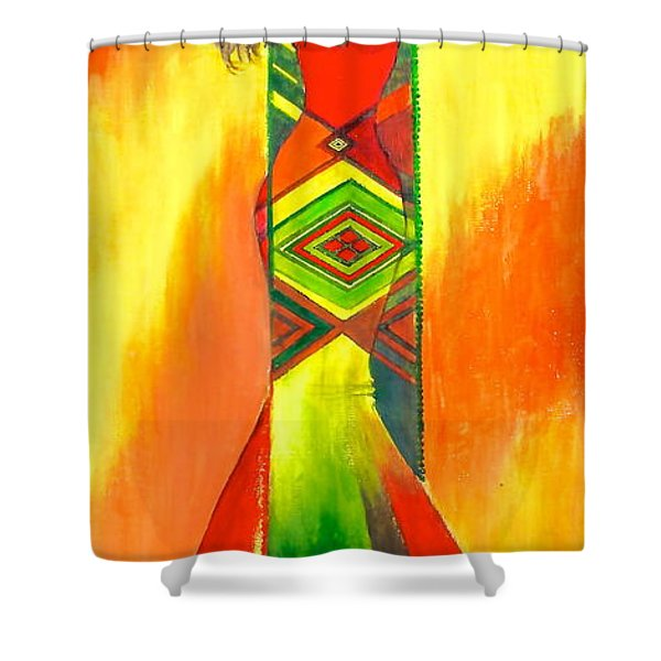 Being Wild Shower Curtain