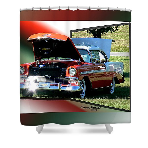 Bel Air 1950s-featured In Manufactured Items Group Shower Curtain