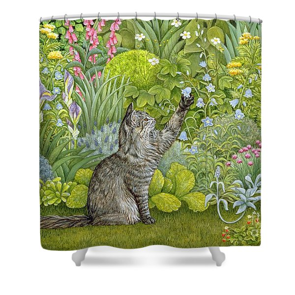Bell Ringing Shower Curtain