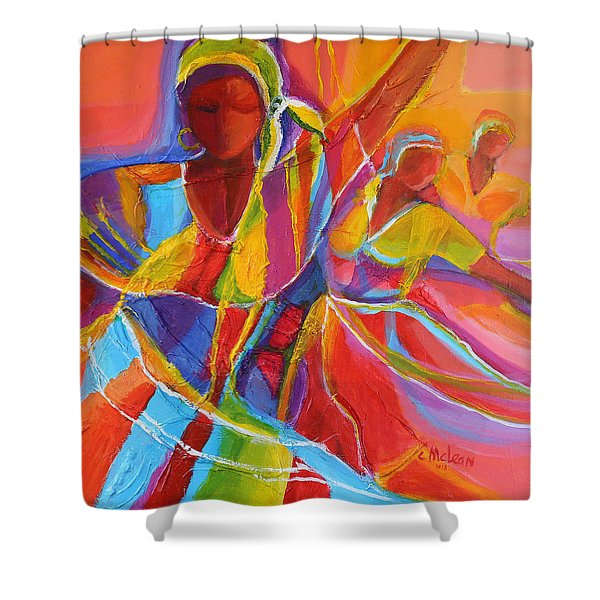 Belle Dancers Shower Curtain