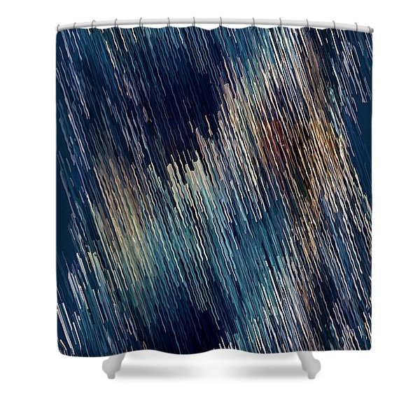 Below Zero Shower Curtain