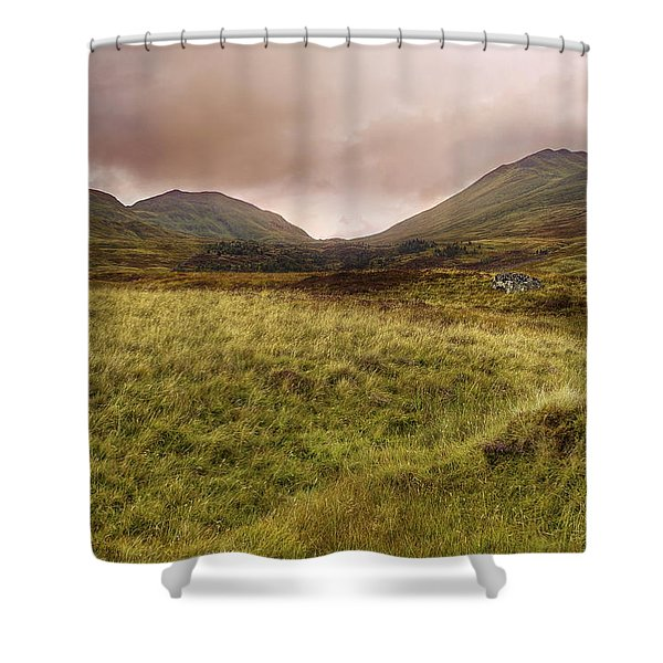 Ben Lawers - Scotland - Mountain - Landscape Shower Curtain