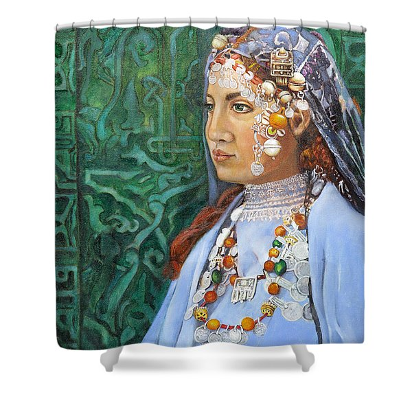 Berber Woman Shower Curtain