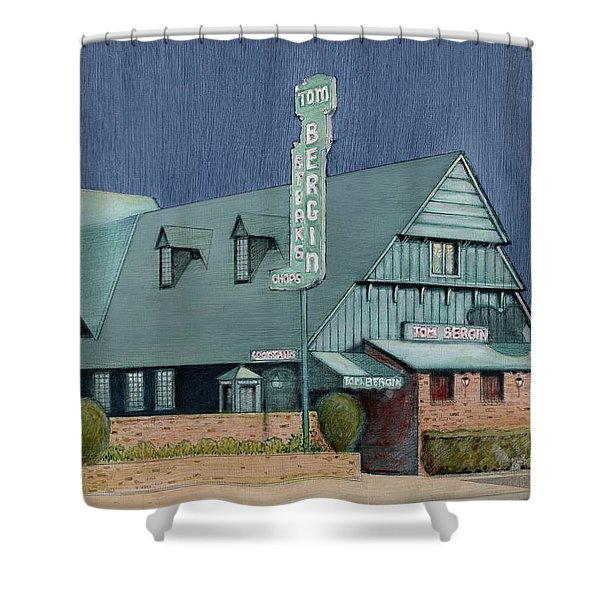 Bergins Shower Curtain