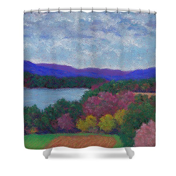 Berkshires In Late October Shower Curtain