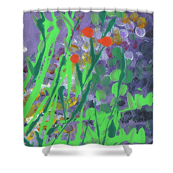 Berries And Brambles Shower Curtain