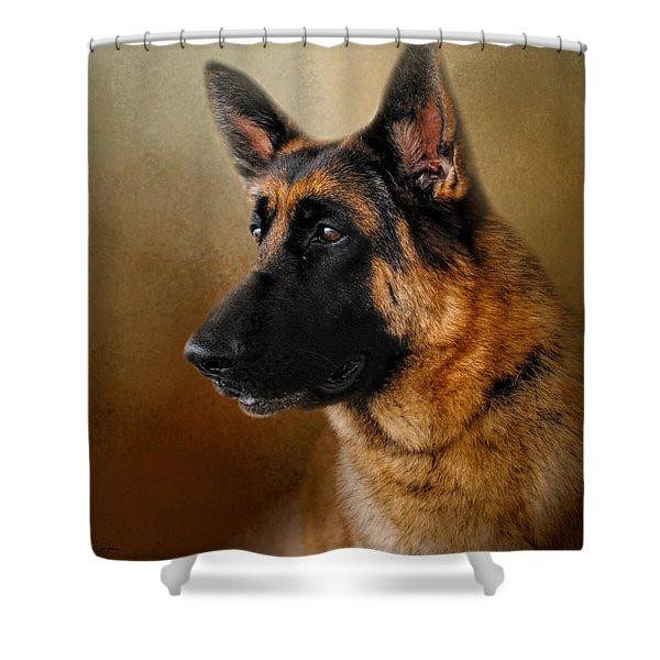 Best In Show - German Shepherd Shower Curtain