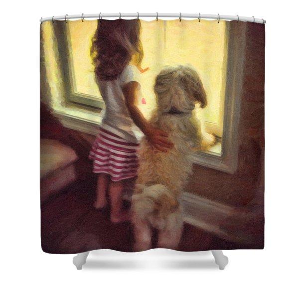 Best Of Friends Shower Curtain