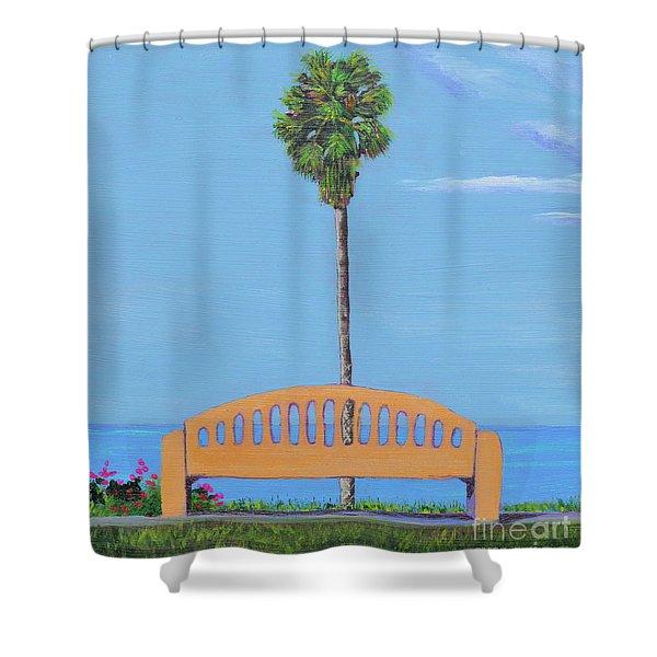 Best Seat In San Clemente Shower Curtain