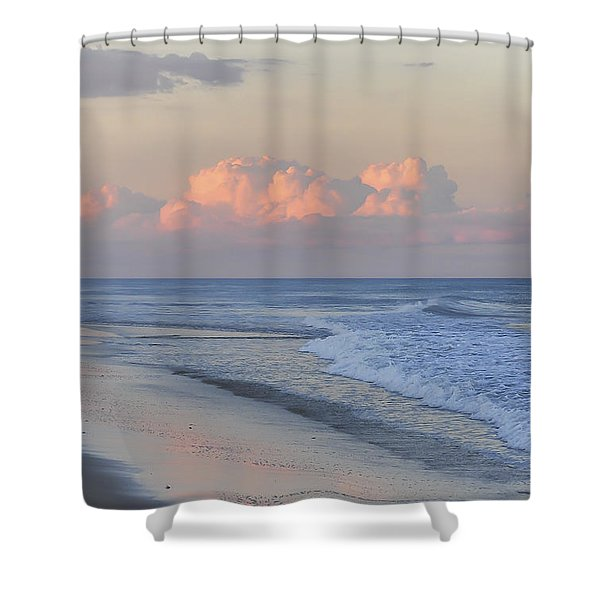 Better Days Ahead Seaside Heights Nj Shower Curtain
