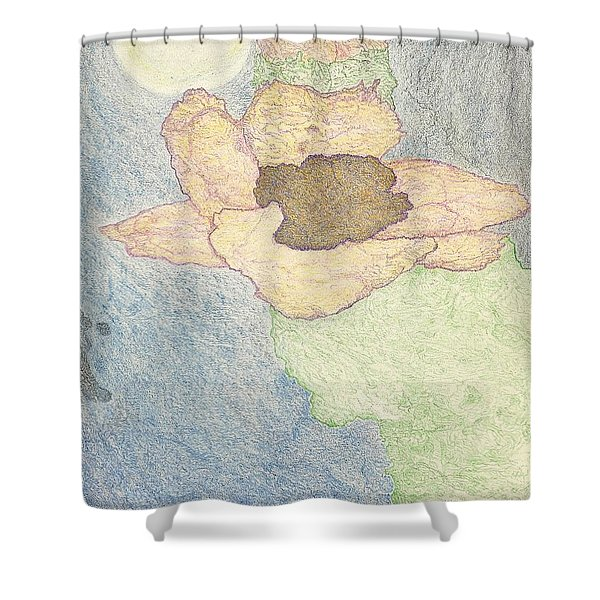 Between Dreams Shower Curtain
