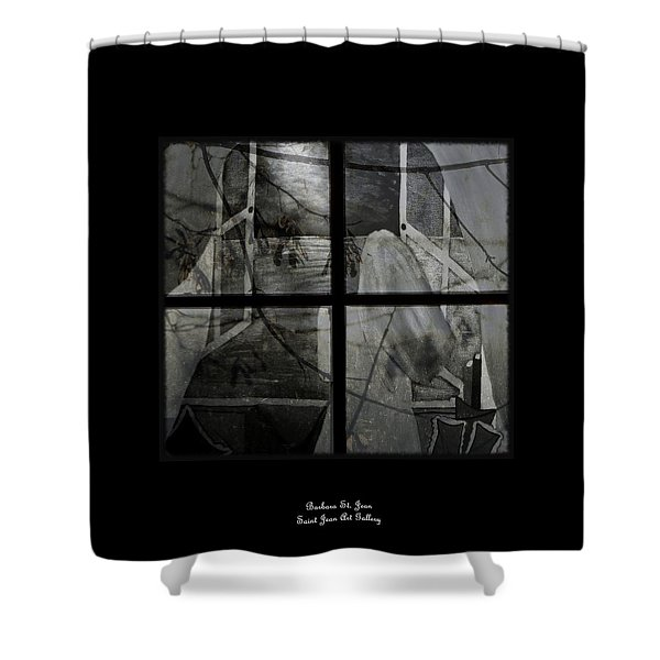 Between The Frames Shower Curtain