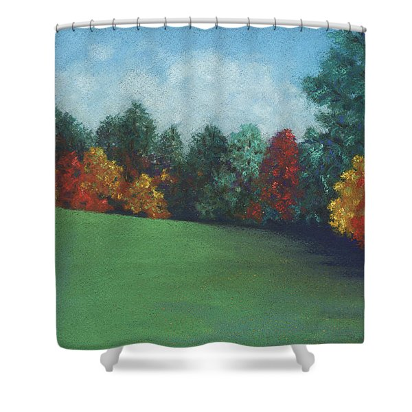 Between The Rainstorms Shower Curtain