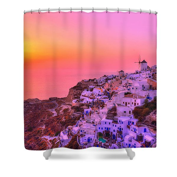 Bewitched Sunset Shower Curtain