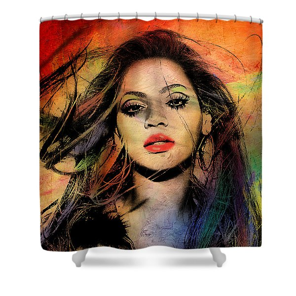 Beyonce Shower Curtain