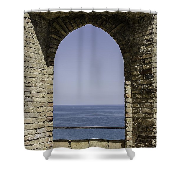 Beyond The Gate Of Infinity Shower Curtain