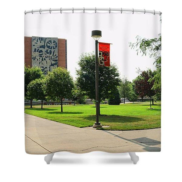 Bgsu Jerome Library 3274 Shower Curtain