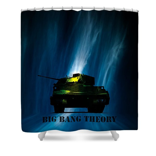 Big Bang Theory Shower Curtain
