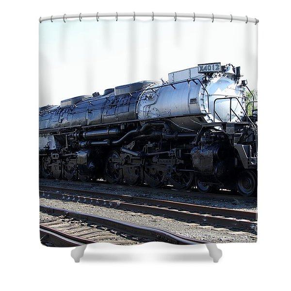 Big Boy - Union Pacific Railroad Shower Curtain