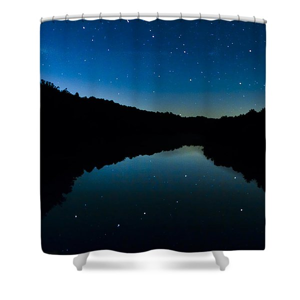Big Dipper Reflection Shower Curtain