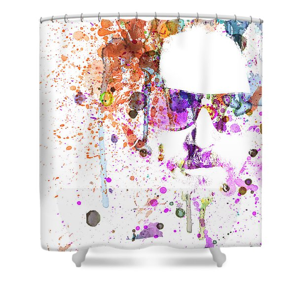 Big Lebowski Watercolor 1 Shower Curtain
